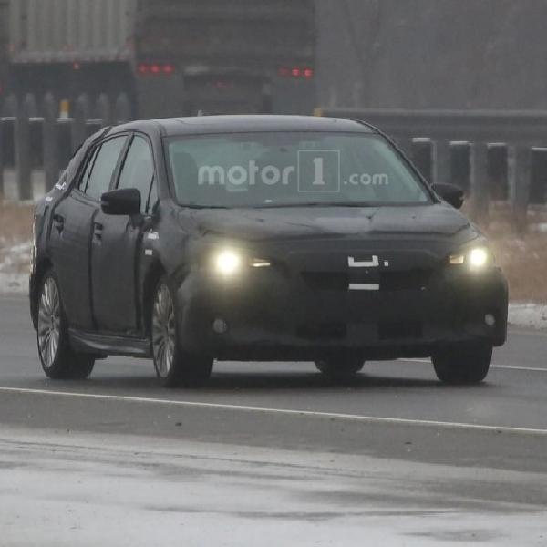 Subaru Impreza 2017 Sudah Masuk Tahap Final Dalam Uji Coba