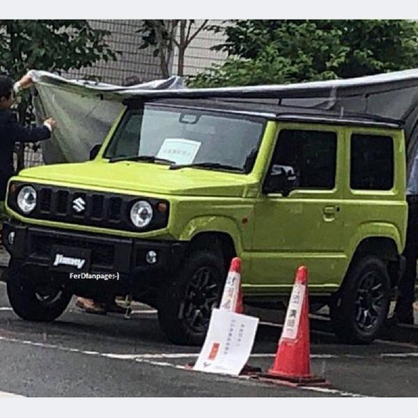 Ada Nuansa Klasik di Interior Suzuki Jimny 2019