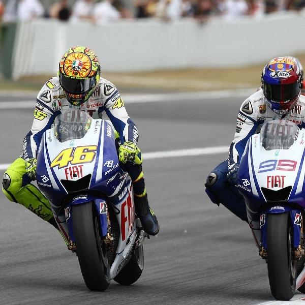 MotoGP: Jorge Lorenzo Kenang Persaingan Dengan Valentino Rossi di Catalunya 2009