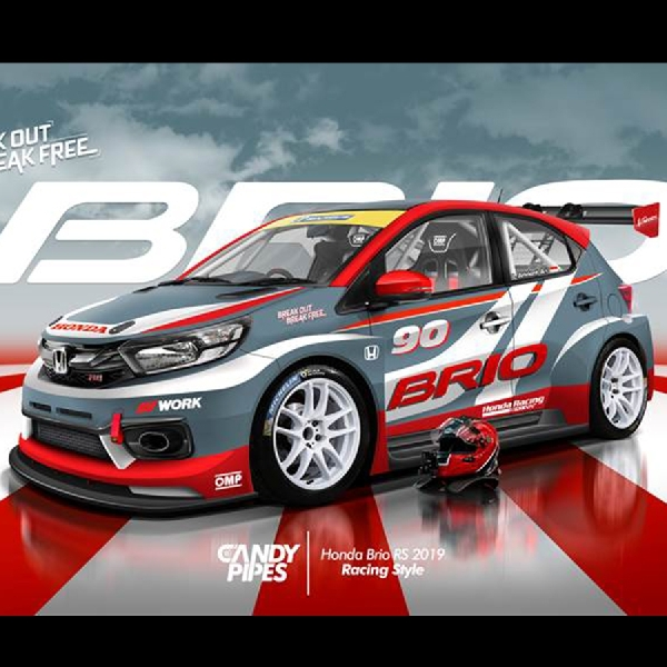 3 Pemenang Honda Brio Virtual Modification