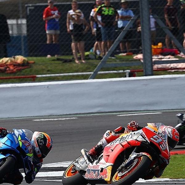 Kalah di Silverstone, Marc Marquez Akui 'Cari Poin Aman'