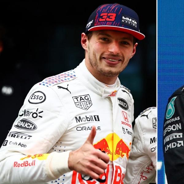 F1: Kalahkan Lewis Hamilton, Max Verstappen Jadi Driver Terfavorit di Formula 1