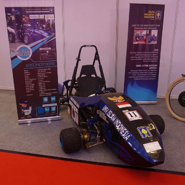 Mobil Listrik Kaliurang Gunakan Teknologi F1