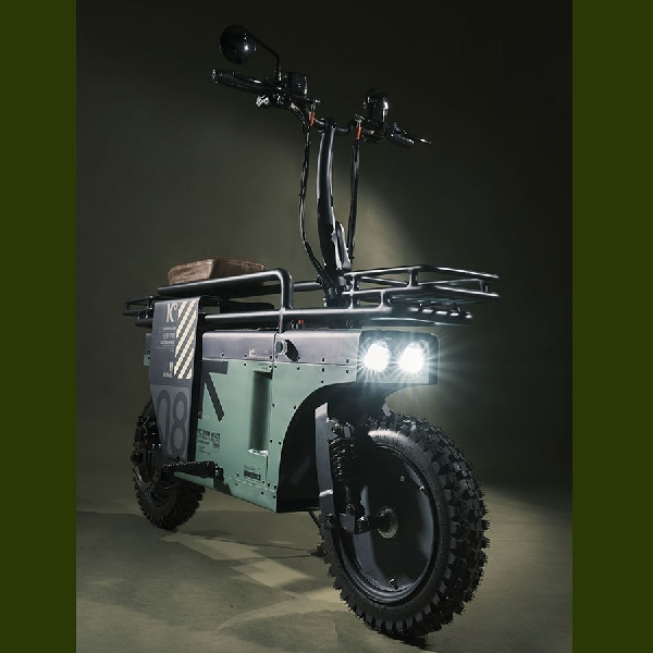 Katalis Spacebar, Skuter Retro Elektrik 1200w Karya   Anak Bangsa