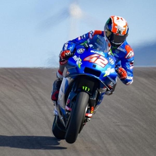 MotoGP: Kecelakaan Saat Sesi Latihan, Alex Rins Absen di MotoGP Catalan