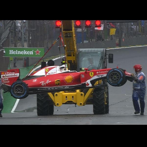 F1: Kecelakaan Raikkonen Membuat Nico Hulkenberg Sedikit Kecewa