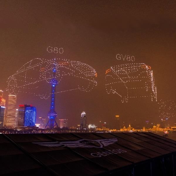 Kehadiran Dua Kendaraan Genesis di China Cetak Rekor Dunia