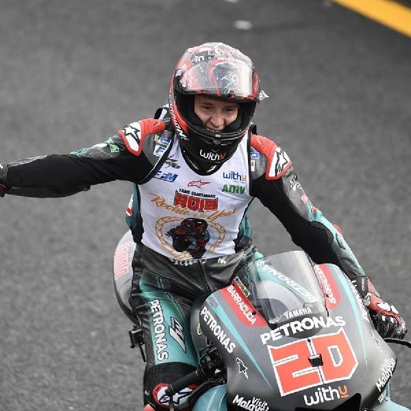 MotoGP: Kemenangan Quartararo di MotoGP Hanya Masalah Waktu