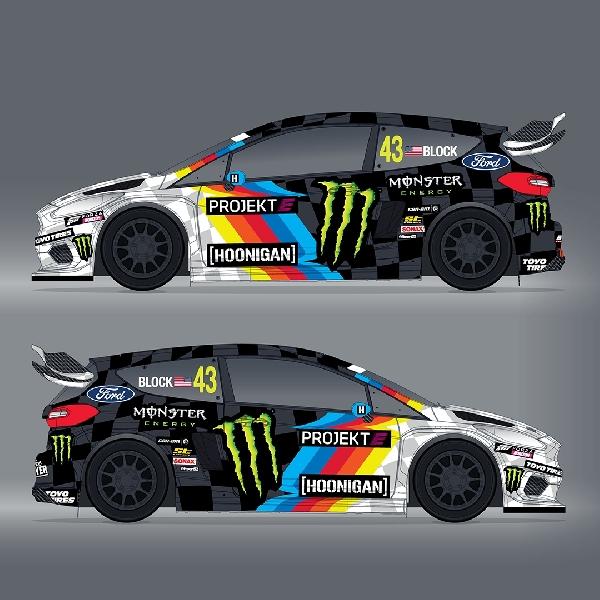 Ken Block akan Ramaikan World Rallycross 2020 dengan Ford Fiesta Listrik 600 hp