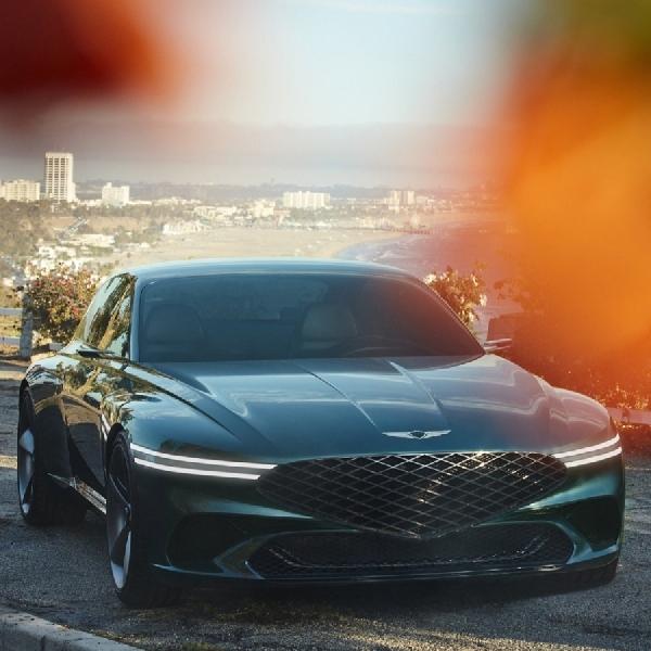 Genesis X Concept, Kendaraan Listrik Coupe Low-Slung yang Memukau