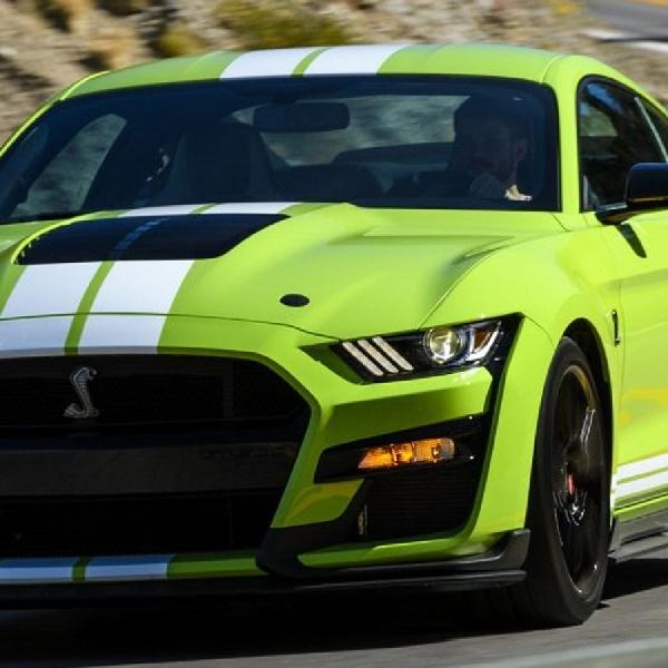 Ketika Ford Mustang GT500 Terinspirasi Hulk, Begini Tampilannya