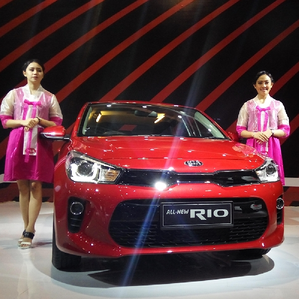 Kia Indonesia Luncurkan All-New Rio di IIMS 2017