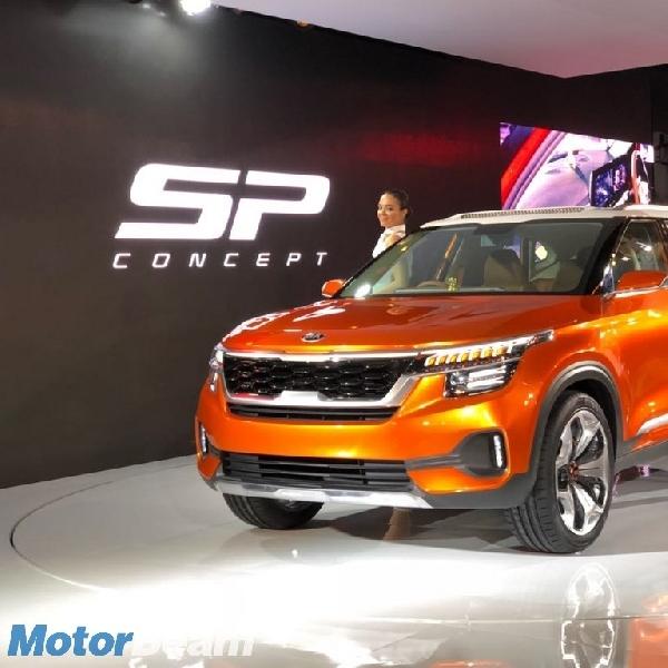Kia Pamer Konsep SUV SP di Auto Expo 2018