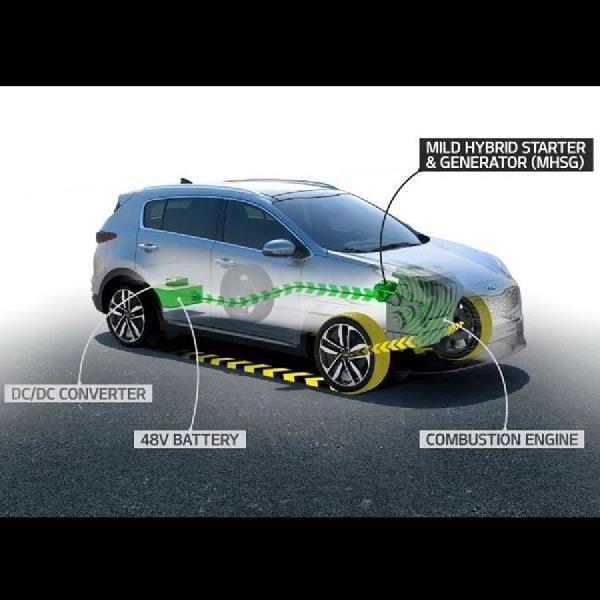 Kia Siapkan Sportage dengan Mesin Diesel-Hybrid Tahun Ini