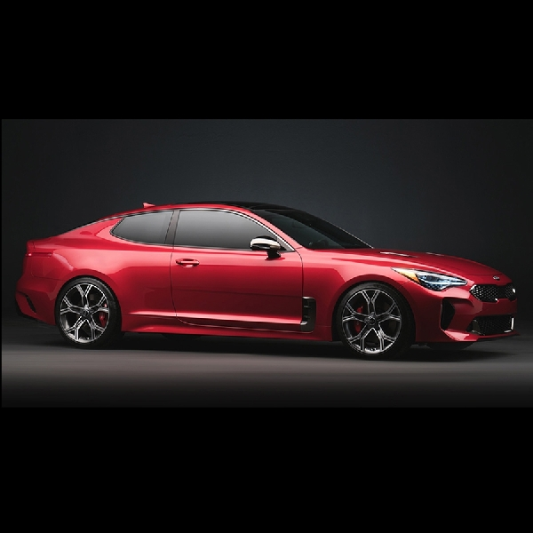 Digital Render Kia Stinger Coupe