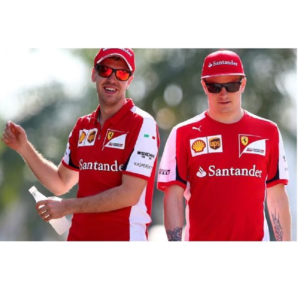 Ferrari Kuat di Spanyol