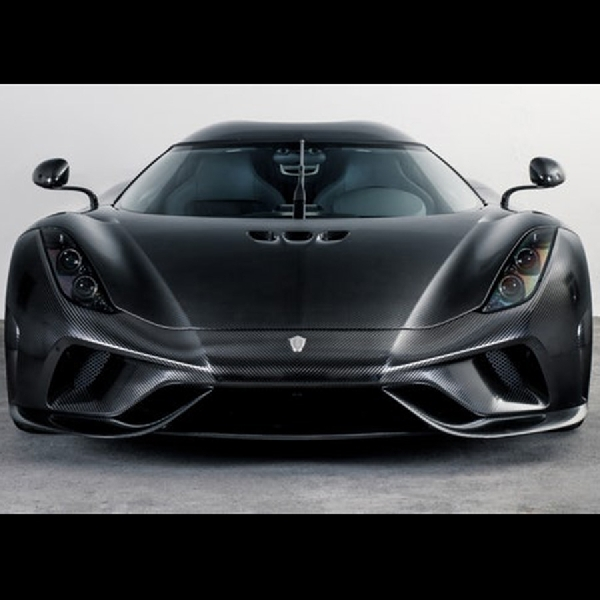 Koenigsegg Naked Carbon (KNC) Model Regera Full Carbon Siap Dipesan
