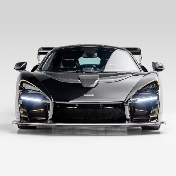 Koleksi McLaren Senna Bertema Merlin Ini Dijual Untuk Publik