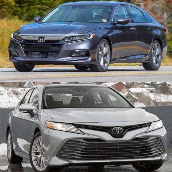 Komparasi Toyota Camry 2020 vs Honda Accord 2020, Mana Yang Terbaik?