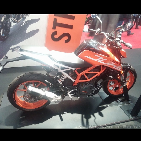 KTM Duke 390 Teranyar Hadir di Filipina
