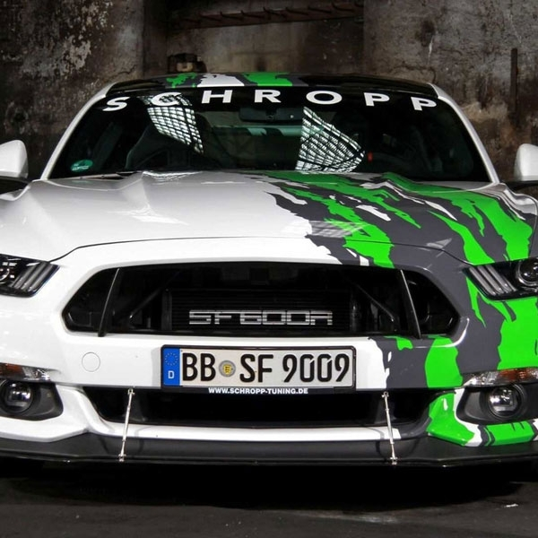 Modifikasi Ford Mustang: Kuda Poni Bertenaga Melimpah