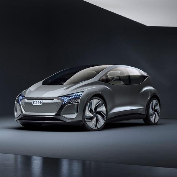 Audi Perkenalkan Mobil Otonom AI:ME Tanpa Dashboard di Shanghai Motor Show