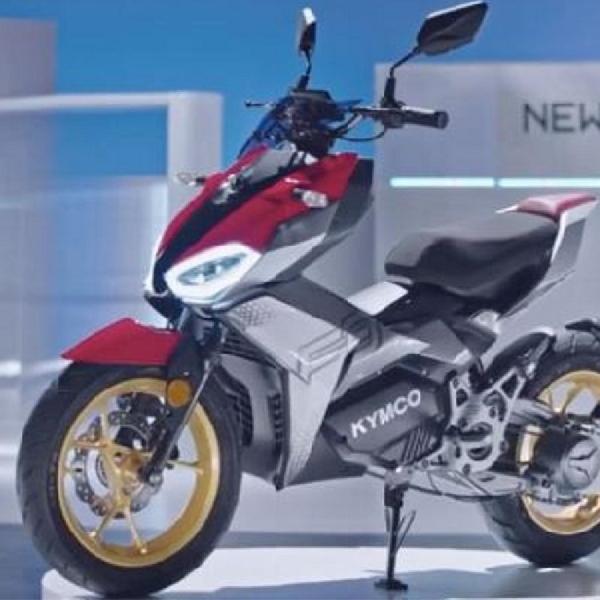 KYMCO Perkenalkan Sepeda Motor Listrik Baru