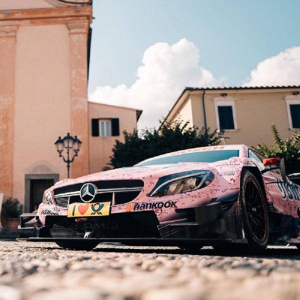 Mercedes-AMG C63 DTM Jadi Mobil Pengantin