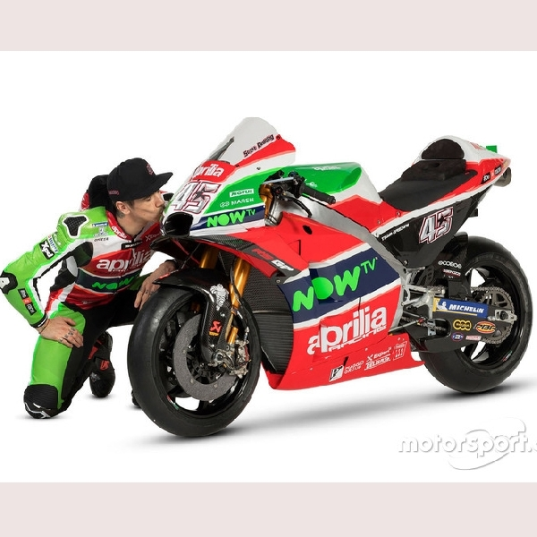 MotoGP: Aprilia Rilis Livery Anyar RS-GP 2018