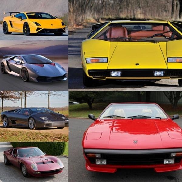 10 Model Lamborghini Langka yang Dicari Penggemar Fanatiknya (Part 1)