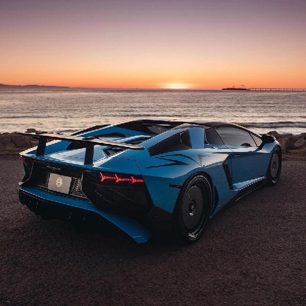 Lamborghini Aventador SV Ini Adopsi Pelek Mobil Rally