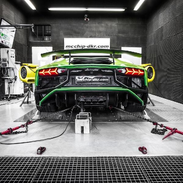 Mcchip-DKR - Pompa Tenaga Ekstra pada Lamborghini Aventador SV