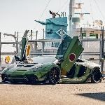 "Lamborghini Aventador ""Zero Fighter"" Kawinkan Liberty Walk Kit Dengan Tampilan Warbird"