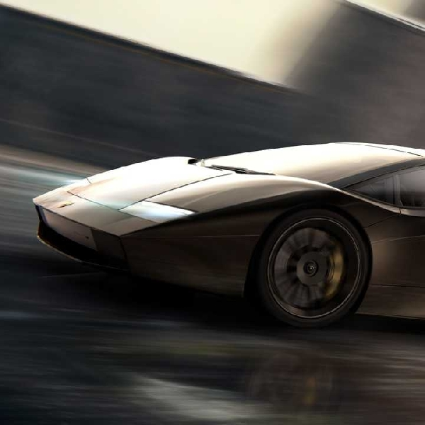 Lamborghini Siapkan Model Countach Terbaru, Teaser Resminya Sudah Beredar