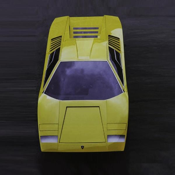 Lamborghini Countach LP500 Rayakan Ulang Tahun ke-50
