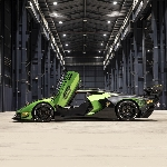 Lamborghini Essenza SCV12, Mobil Pertama yang Adopsi Carbon Fiber Roll Cage