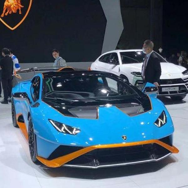 Lamborghini Essenza SCV12 Tampil Memukau di Tiongkok