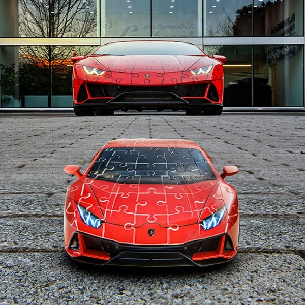 Lamborghini Huracan Evo Dibandrol Rp600 Ribuan? Benar Namun Berbentuk Puzzle 3D