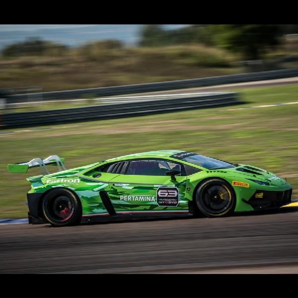 Pertamina Fastron Kembali  Jadi Technical Partner Lamborghini Squadra Corse