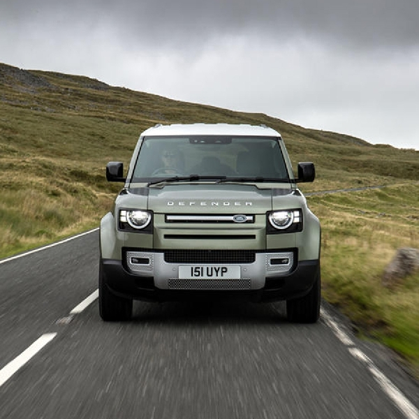 Land Rover Kembangkan Defender Bertenaga Hidrogen