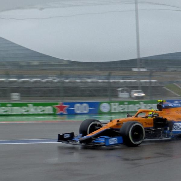 F1: Lando Norris Lolos dari Penalti di Grand Prix F1 Rusia