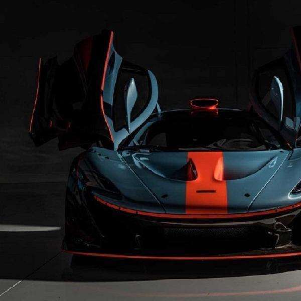 McLaren P1 GTR Livery Tim Balap F1 Karya Lanzante