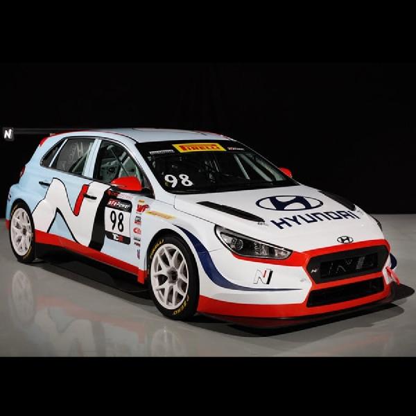 Hyundai TCR i30 N Ramaikan Race Pirelli World Challenge 2018