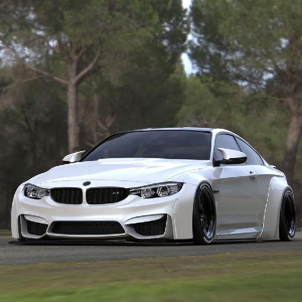 Liberty Walk dongkrak tampilan BMW M4