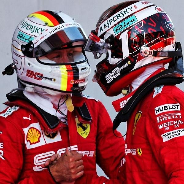 F1: Leclerc Masih Ingin Bekerjasama Dengan Vettel?