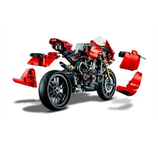 Lego Luncurkan Ducati Panigale V4 R Dengan Transmisi Fungsional
