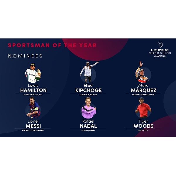 MotoGP: Lewis Hamilton dan Marc Marquez Masuk Nominasi Laureus Awards