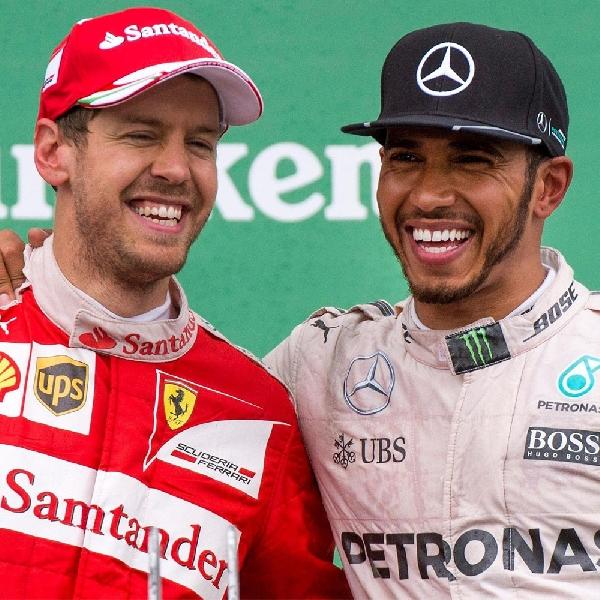 Hamilton dan Vettel Tingkatkan Tenaga Mesin Mobilnya untuk Balapan di Belgia
