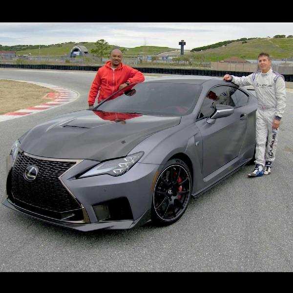 Tim Salley dan Tim Jeter Saling Beradu di Lexus 0 to 60 Laguna Seca