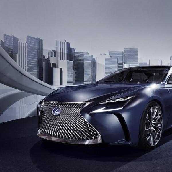 Lexus akan Kenalkan Lebih Lanjut Konsep LF-FC di Jenewa 2016